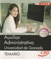 Auxiliar Administrativo de la Universidad de Granada - EDITORIAL CEP