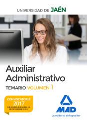 Auxiliar Administrativo de la Universidad de Jaén - Ed. MAD