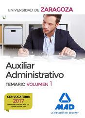 Auxiliar Administrativo de la Universidad de Zaragoza - Ed. MAD