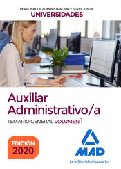 Auxiliar Administrativo de Universidades - Ed. MAD