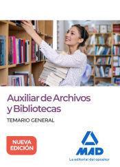 Auxiliar de Archivos y Bibliotecas - Ed. MAD