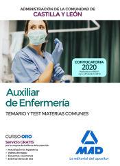 Auxiliar de Enfermería de la Administración de la Comunidad de Castilla y Léon - Ed. MAD
