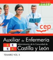 Auxiliar de Enfermería de la Administración de la Comunidad de Castilla y León. Temario Vol. II. de EDITORIAL CEP