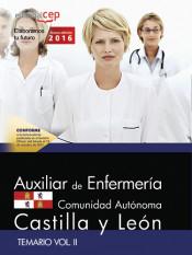 Auxiliar de Enfermería de la Administración de la Comunidad de Castilla y León. Temario Vol. II. de Editorial CEP, S.L.