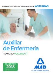 Auxiliar de Enfermería de la Administración del Principado de Asturias - Ed. MAD