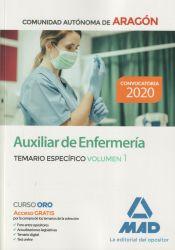 Auxiliar de Enfermería de la Diputación General de Aragón (DGA) - Ed. MAD