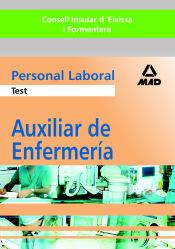 Auxiliar de Enfermería del Consell Insular d´Eivissa i Formentera Personal Laboral. Ed. MAD