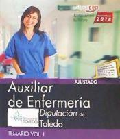 Auxiliar de Enfermería. Diputación de Toledo - EDITORIAL CEP