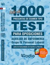 Auxiliar de Enfermería. Personal Laboral Grupo IV. Junta de Comunidades de Castilla-La Mancha. de Ediciones Rodio
