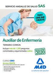 Auxiliar de Enfermería del Servicio Andaluz de Salud (SAS). Temario Común de Ed. MAD