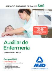 Auxiliar Enfermería del Servicio Andaluz de Salud - Ed. MAD