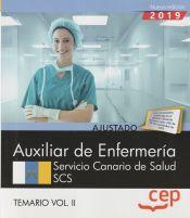 Auxiliar de Enfermería. Servicio Canario de Salud. SCS. Temario Vol. II de EDITORIAL CEP