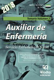 Auxiliar de Enfermería del Servicio Extremeño de Salud.Temario. Vol.2. de Rodio Ediciones