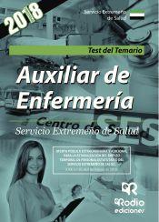 Auxiliar de Enfermería del Servicio Extremeño de Salud. Test de Rodio Ediciones