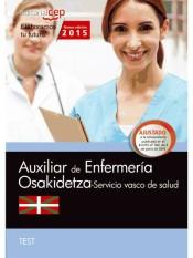 Auxiliar de Enfermería del Servicio Vasco de Salud (Osakidetza). Test