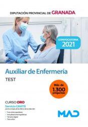 Auxiliar de Enfermería. Test. Diputación de Granada de Ed. MAD