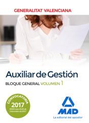 Auxiliar de Gestión de la Generalitat Valenciana - Ed. MAD