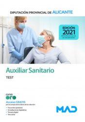 Auxiliar Sanitario. Test. Diputación Provincial de Alicante de Ed. MAD
