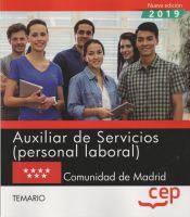 Auxiliar de Servicios Comunidad de Madrid - EDITORIAL CEP