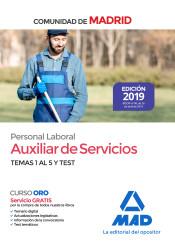 Auxiliar de Servicios. Personal Laboral de la Comunidad de Madrid - Ed. MAD