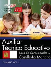 Auxiliar Técnico Educativo. Junta de Comunidades de Castilla-La Mancha. Temario Vol.II de EDITORIAL CEP