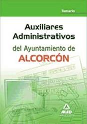 Auxiliar administrativo del ayuntamiento de Alcorcón - Ed. MAD