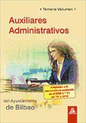 Auxiliar Administrativo del Ayuntamiento de Bilbao - Ed. MAD