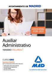Auxiliar Administrativo del Ayuntamiento de Madrid - Ed. MAD