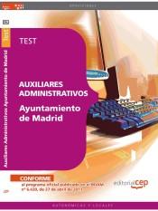 Auxiliares Administrativos Ayuntamiento de Madrid. Test