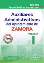 Auxiliar Administrativo del Ayuntamiento de Zamora - Ed. MAD