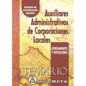 Auxiliar Administrativo de Corporaciones Locales - Editorial Meta