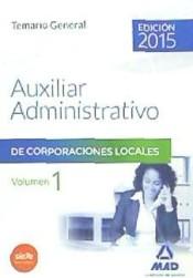 Temario de oposiciones - Auxiliares Administrativos de