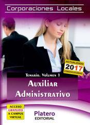 Auxiliar Administrativo de Corporaciones Locales - Platero Editorial