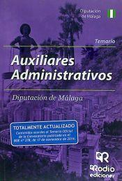 Auxiliares Administrativos de la Diputación de Málaga - Rodio Ediciones