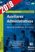 Auxiliares Administrativos de la Junta de Andalucía. Temario Volumen 2 de Rodio Ediciones