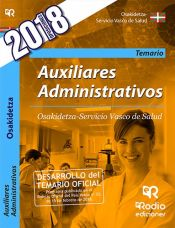 Auxiliar administrativo del Servicio Vasco de Salud (Osakidetza) - Ediciones Rodio