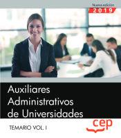 Auxiliar Administrativo de Universidades - EDITORIAL CEP