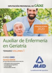 Auxiliar de Enfermería en Geriatría de la Diputación Provincial de Cádiz - Ed. MAD
