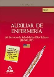 Auxiliares de Enfermería del IB-SALUT. Test