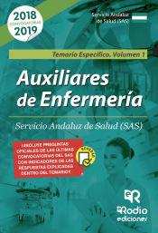 Auxiliar de Enfermería del Servicio Andaluz de Salud (SAS) - Ediciones Rodio