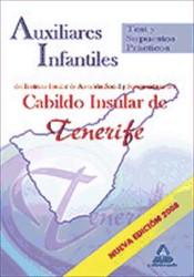 Auxiliares Infantiles del IASS-Cabildo Insular de Tenerife. Test y Supuestos Prácticos