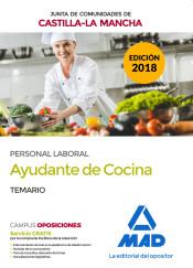 Ayudante de Cocina de la Junta de Comunidades de Castilla - La Mancha - Ed. MAD