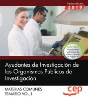 Ayudantes Especializados de los Organismos Públicos de Investigación - EDITORIAL CEP