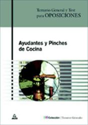 Temario de oposiciones ayudantes y pinches de cocina for Pinche de cocina