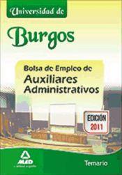 Temario de oposiciones oposicion auxiliar administrativo for Oficina de empleo burgos