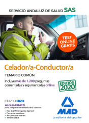 Celador-Conductor del Servicio Andaluz de Salud (SAS) - Ed. MAD