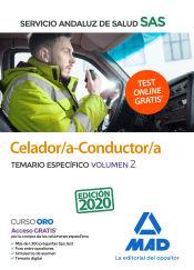 Celador/a-Conductor/a del Servicio Andaluz de Salud. Temario específico volumen 2 de Ed. MAD