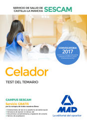 Celador del Servicio de Salud de Castilla-La Mancha (SESCAM). Test del temario