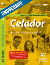 Celadores, Servicio Riojano de Salud. Temario y test de la parte epecífica de Ediciones Rodio S. Coop. And.