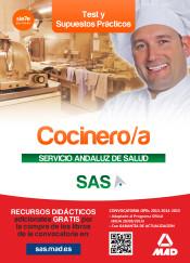 Cocinero/a del Servicio Andaluz de Salud. Test y supuestos prácticos de Ed. MAD